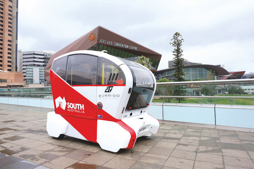 Going driverless in Australia