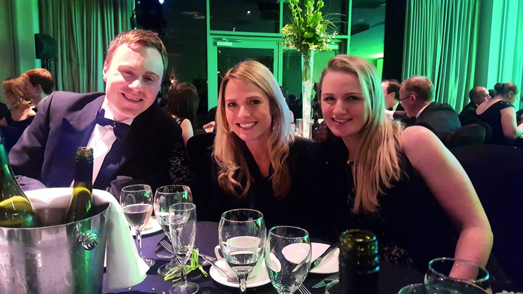 LEGAL FINANCIAL HCR law firm wins- Oliver Daniels, Emilie Darwin and Rachel Roberts