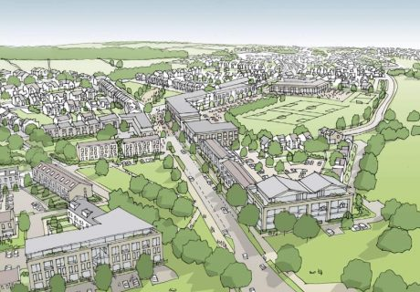 HOUSING Artists impression of Graven Hill