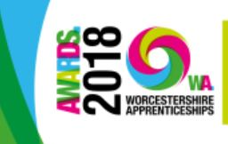 Worcestershire Apprenceship Awards Capture Logo