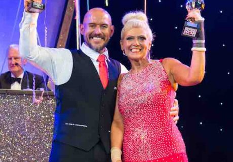 Strictly Worcs 2018 winners Gareth and Dawn