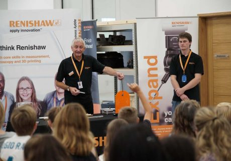 Renishaw 500 young people