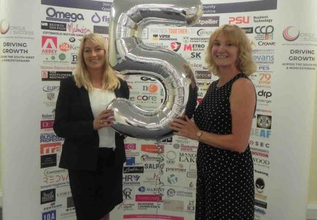 C2S 5 years Suzanne & Angela balloon 5 yes
