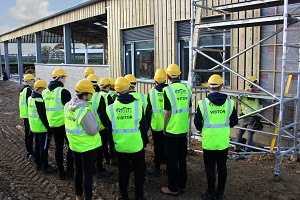 Students on-site Abingson & Witney College