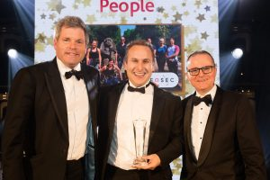 nfosec People cyber security specialist recruitment company in Cheltenham which won an IRP Award