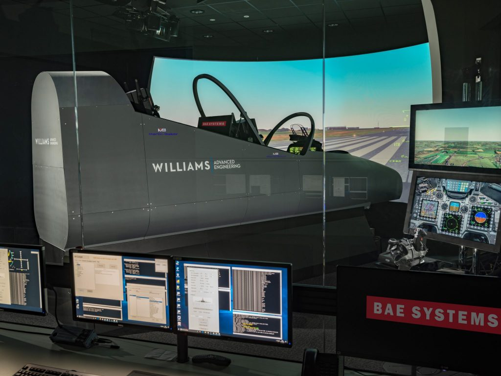 Formula One_know-how is behind cock pit simulator at BAE systems