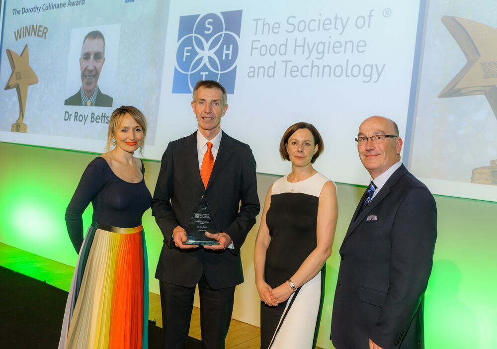 Dr Roy Betts,Head of Microbiology at Campden BRI was given the Dorothy Cullinane Award from the Society of Food Hygiene and Technology (SOFHT) which honours excellence in food safety, food hygiene, and food technology.