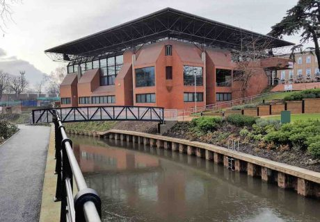 New Library Footbridge in Maidenhead constructed by Greenford