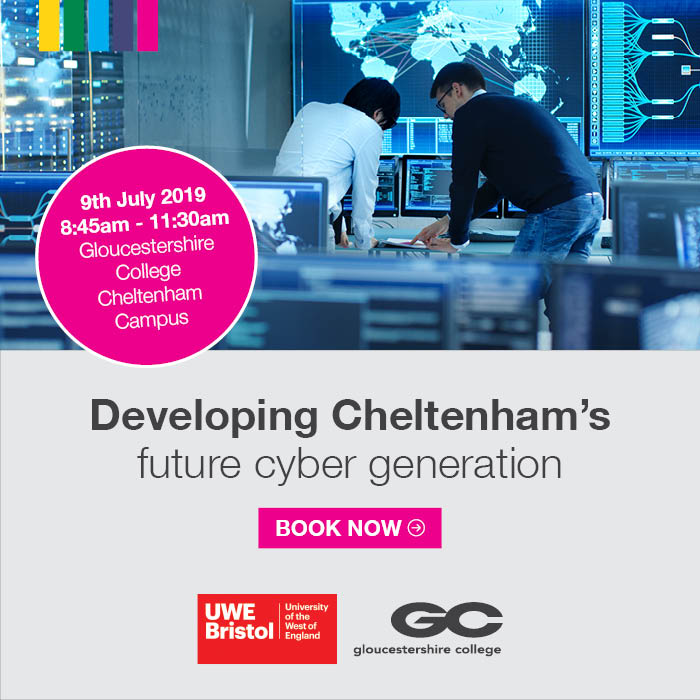 MKB19_047 Cyber event digital banner advert – Business & Innovation e-newsletter 700 x 700