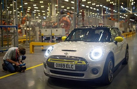 BMW launches new mini