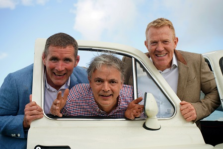 Happerley England launch Phil Vickery, Matthew Rymer and Adam Henson and