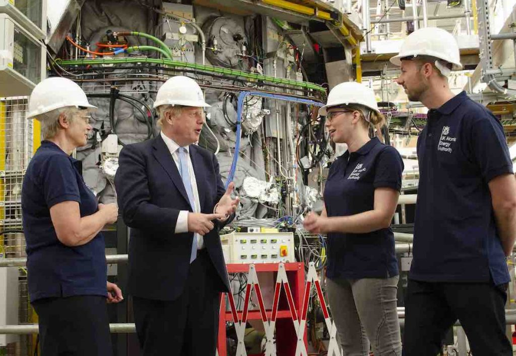 Boris at UKAEA, Culham