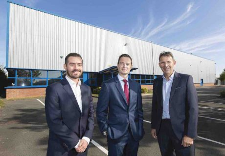 Warmflame Developments and CBRE property story with Park Sheet Metal, Nuneaton.
