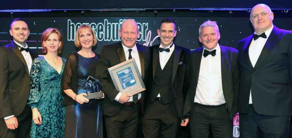 Clarkson Evans wins Nat Housebuilder Award