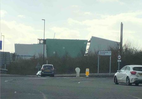 Javelin Park Energy from Waste Incinerator Stonehouse