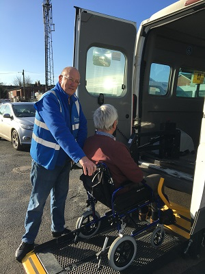 Mick Monaghan lends a helping hand for Worcester Wheels
