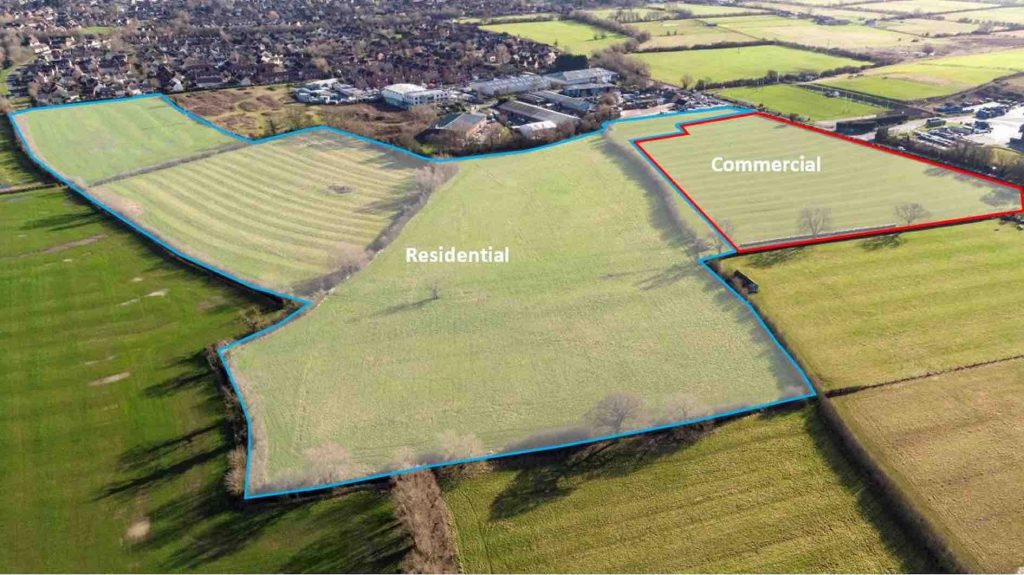Bruton Knowles brings Bishop's Cleeve site to market