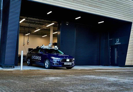 Oxbotica move-in to Culham Science Centre's new facility for testing driverless vehicles