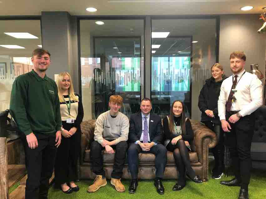 Sanctuary celebrates National Apprenticeship Week (1) – George Doyle – Phoebe Carroll – Tyler Derby – Craig Moule – Lilyanna Williams – Mollie Gillott – Lewis Connolly[2]