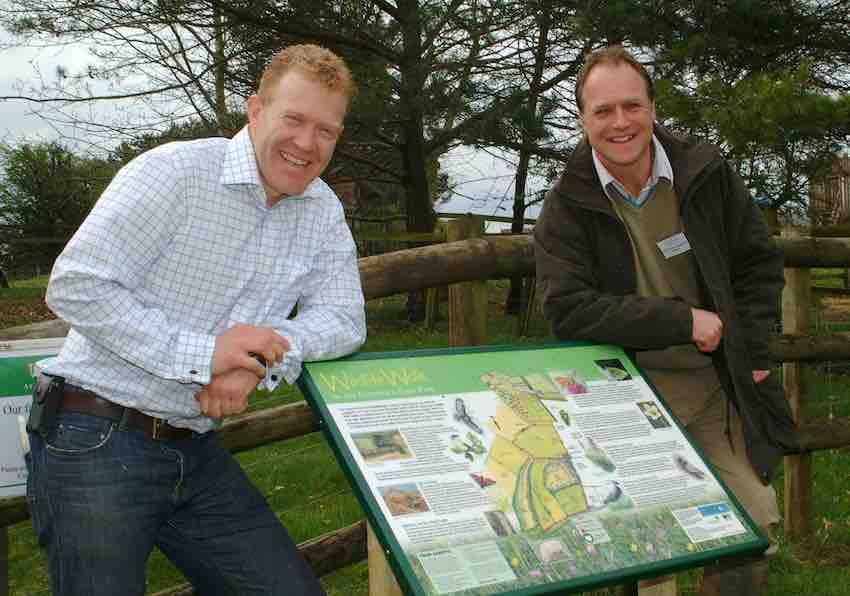 Adam Henson and Duncan Andrews