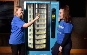 Lucozade vending machines of the future