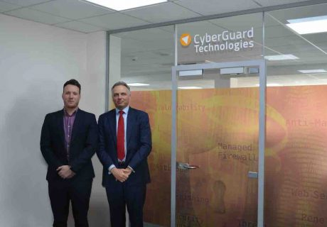 Scott Wilmott (Head of R&D) and Paul Colwell (Technical Director) at CyberGuard Technologies a division of OGL Computer