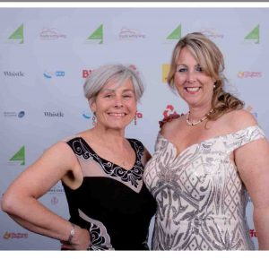 Nicky & Kirsty at the Vale4Business awards