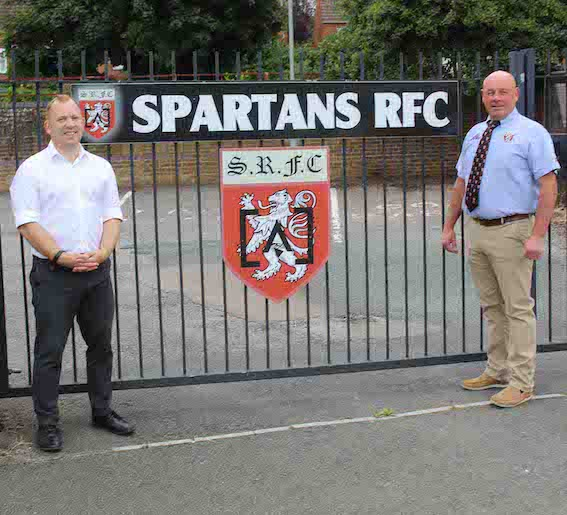 Andy & Kevin at Spartans