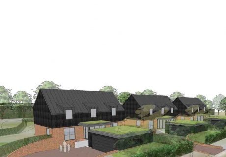 Hempsted Zero Carbon homes