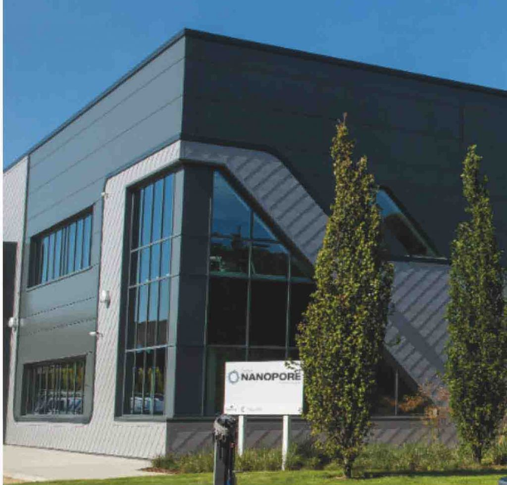 Oxford Nanopore's factory at Harwell Campus