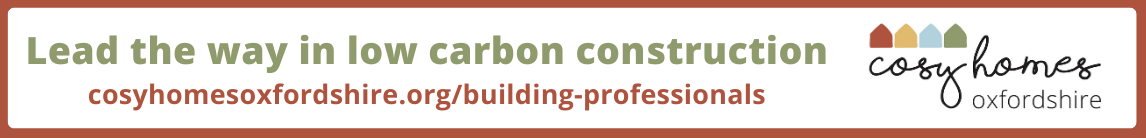 Low Carbon Hub Oxford Cosy homes leader