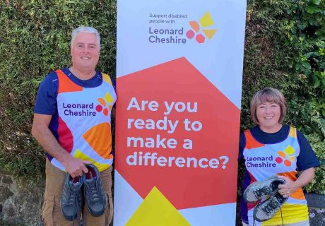 Leonard cheshire Sarah and Andrew ready to make a difference[2]