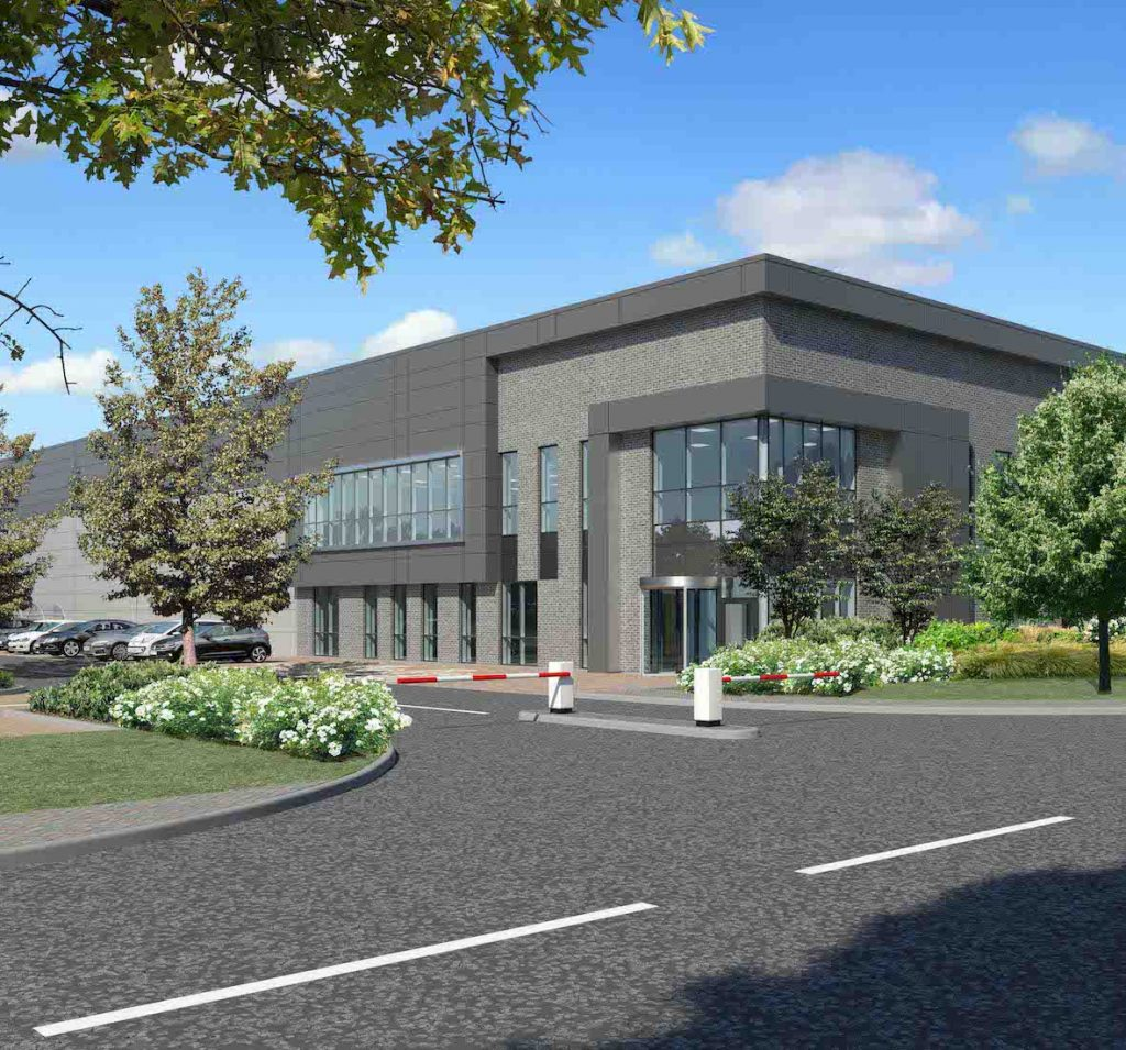 Oxford Business Park cgi of new building