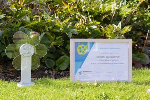 Howbery Bumblebees_Biodiversity_Award_and_certificate small[6]