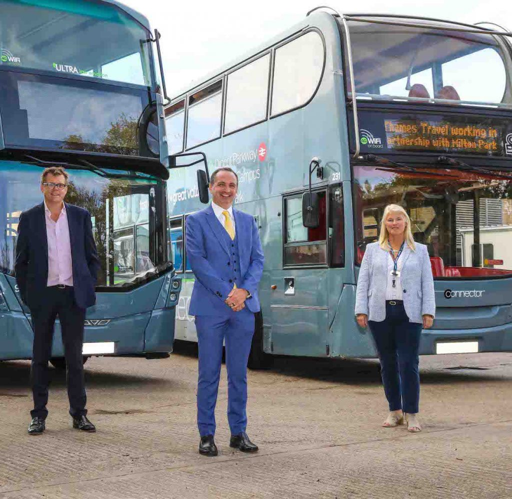 Milton Park partners with Thames Travel