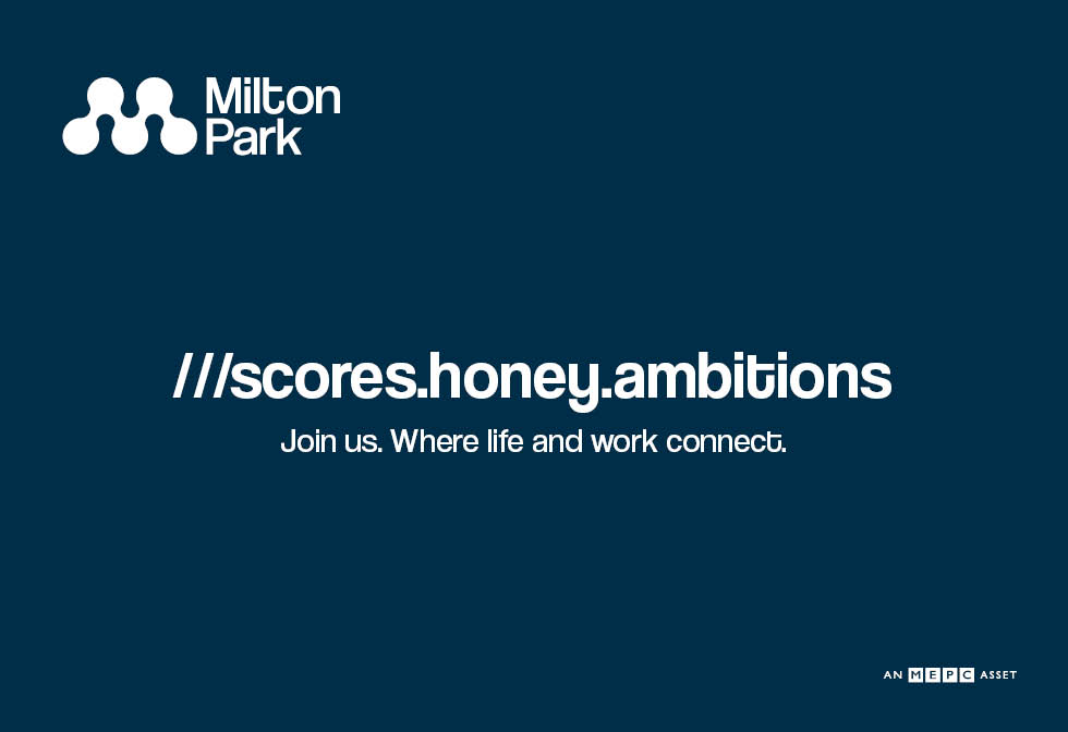 Milton park – Footer Row web ad