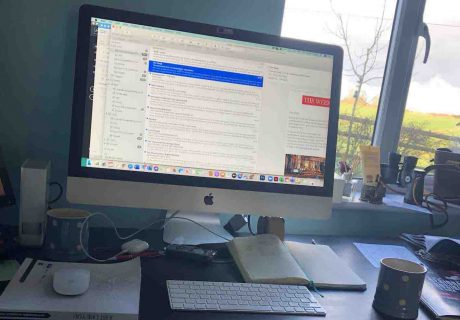 Boom working from home photo