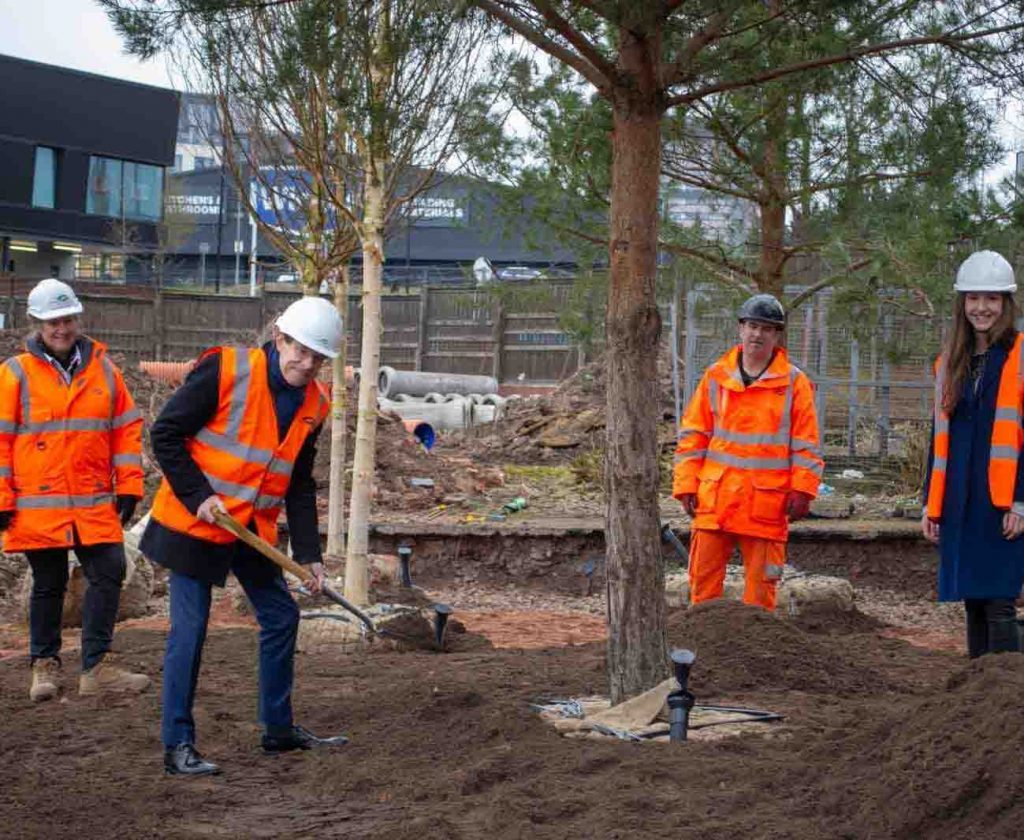 Coventry park tree planting