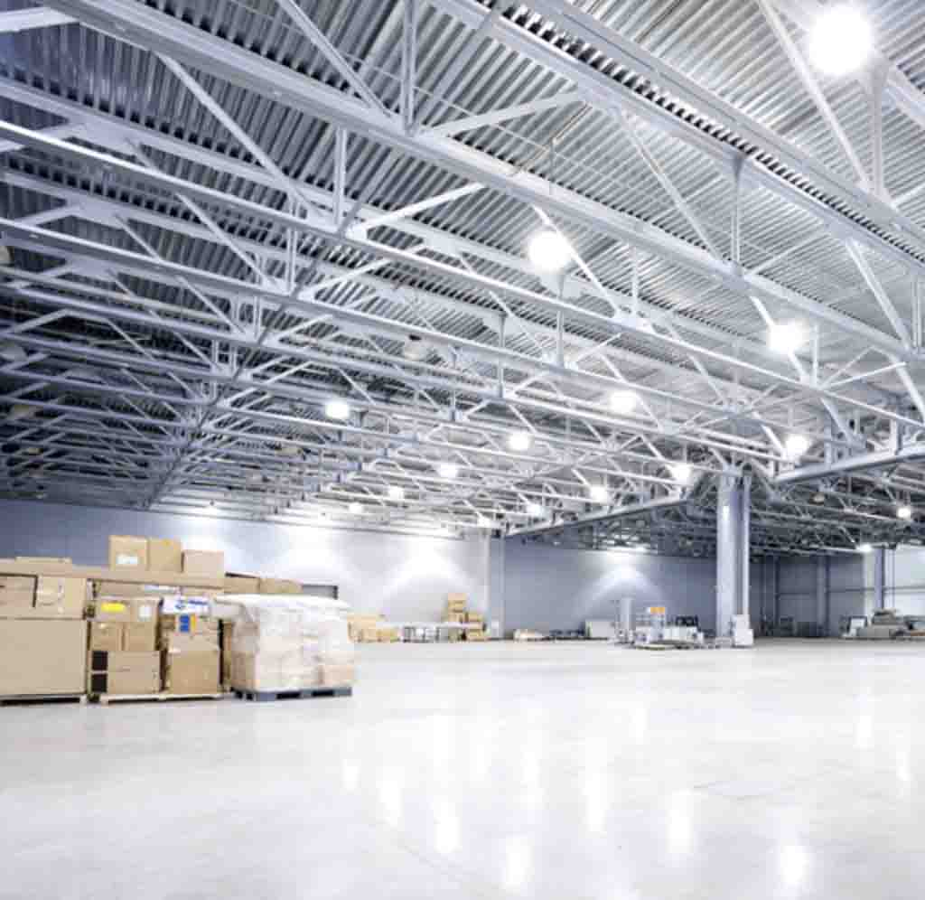 Warehouse photograph Colliers
