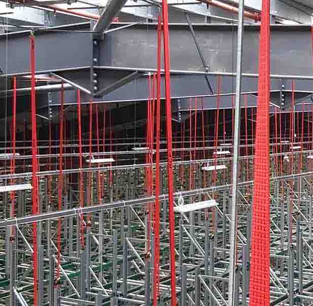 Rack Collapse prevention systems