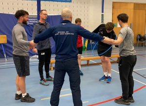 Active games with the University of Gloucestershire