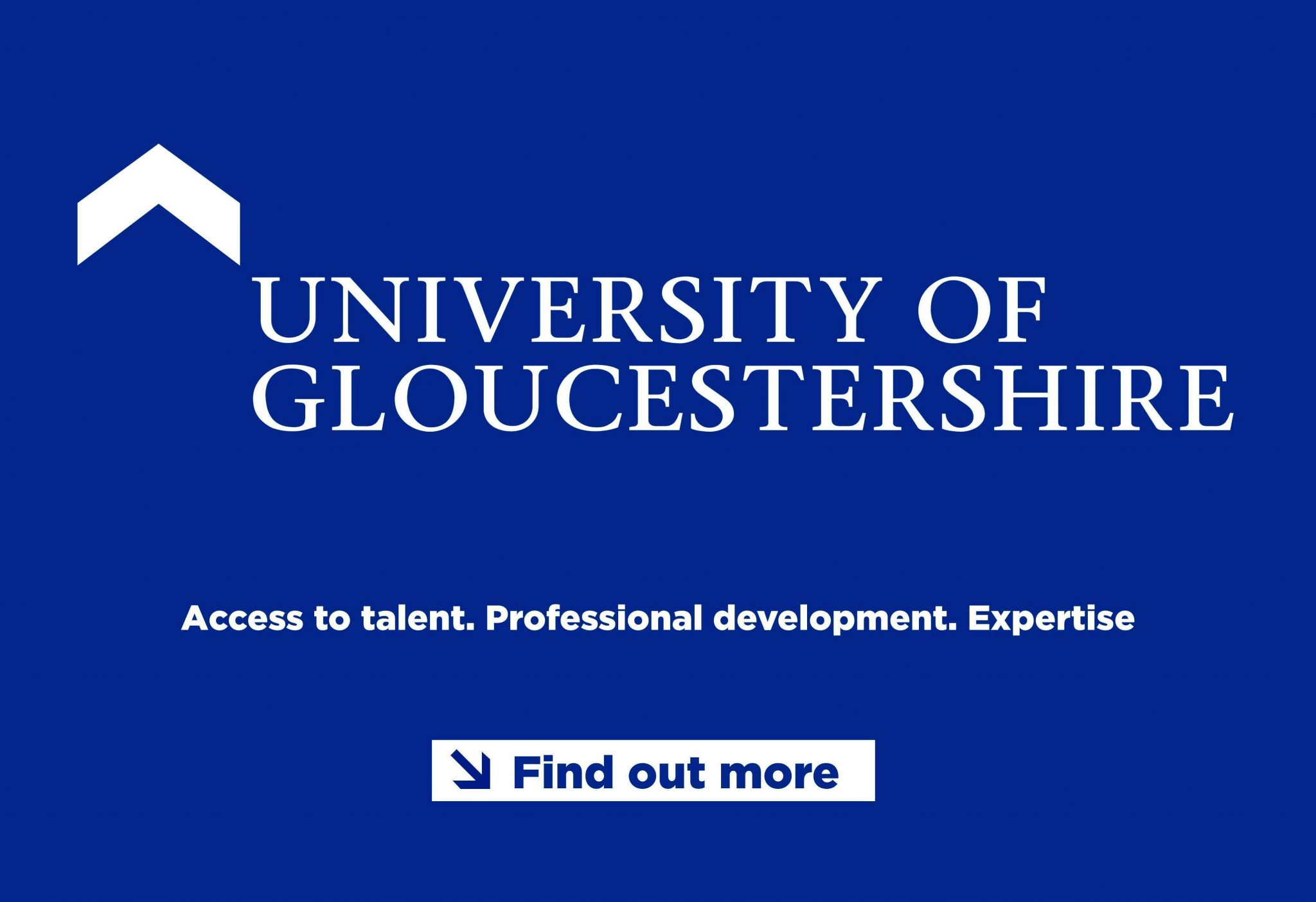 Uni of Glos Footer