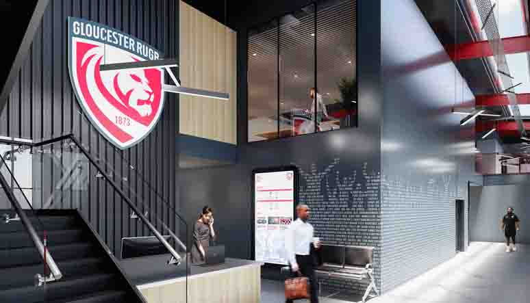 Gloucester Rugby new training facilities CGI 2