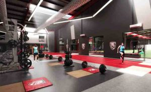 Gloucester Rugby new training facilities CGI 3