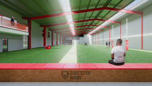 Gloucester Rugby new training facilities CGI 4