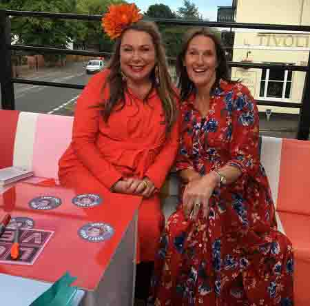 Holly Tucker (l) and Anne Wall of ActionCOACH