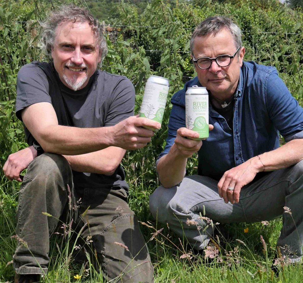 Stroud Brewery greg and hugh in nettles