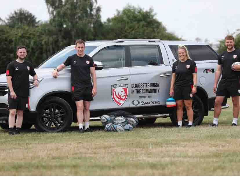 Gloucester Rugby SsangYong