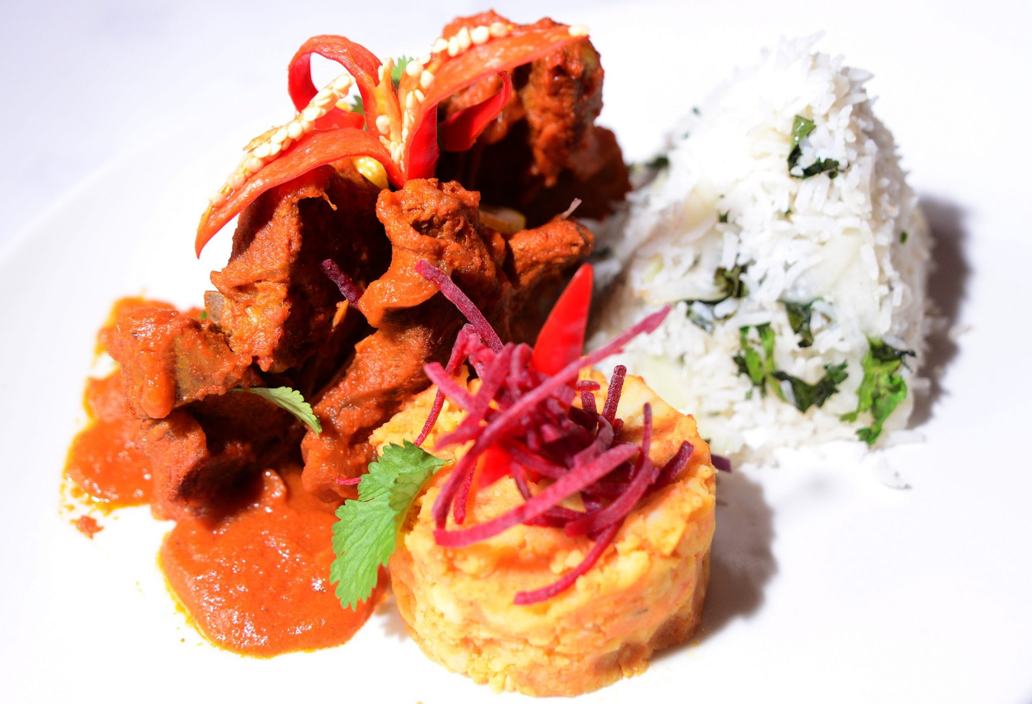 One of Turmeric Gold's tantalising dishes