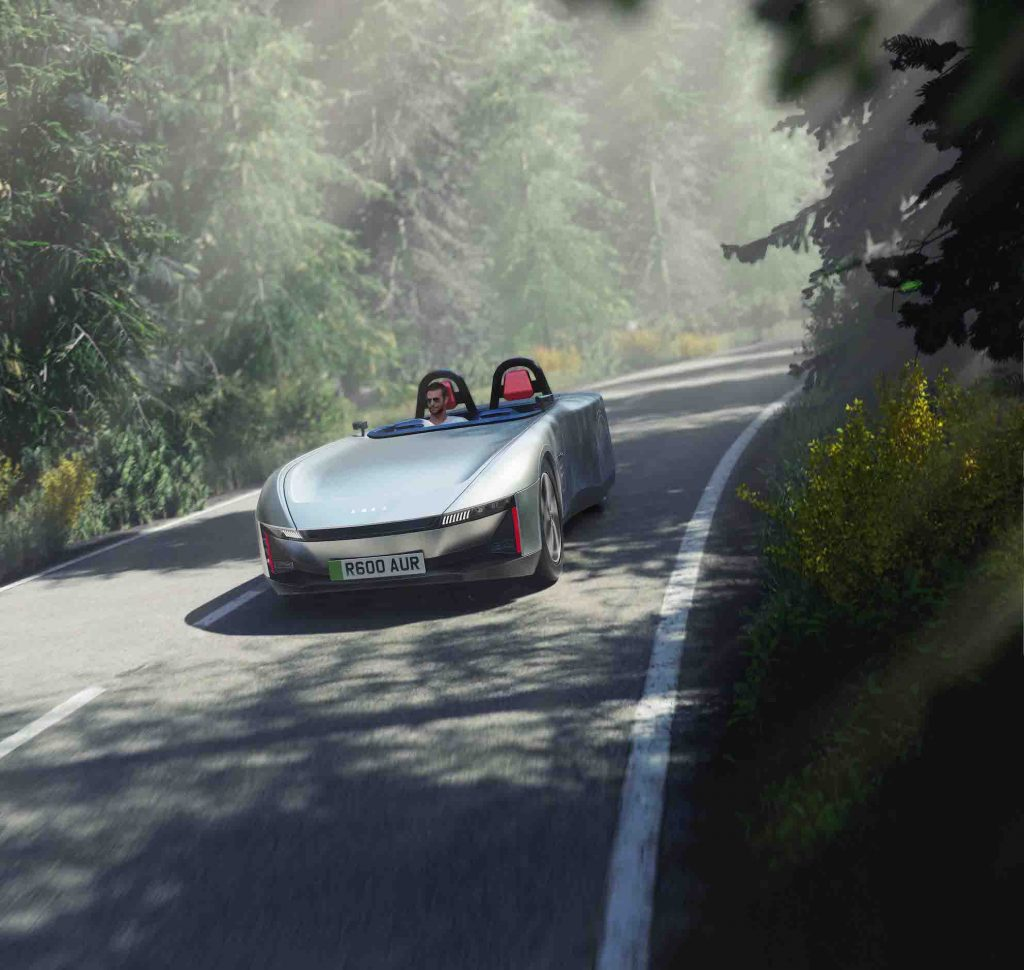 All-electric concept car design by Warwick-based Astheimer Design launched at CENEX-LCV
